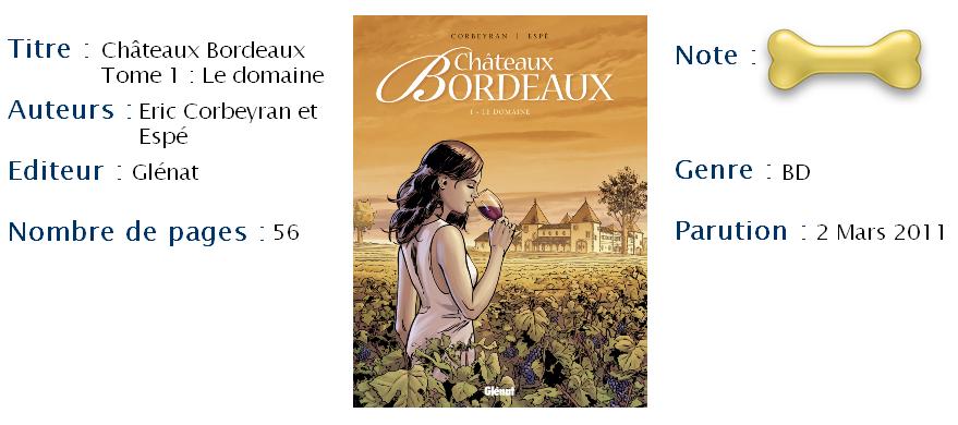 Châteaux Bordeaux Tome 1