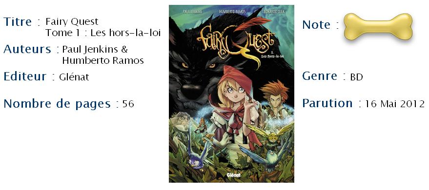 Fairy Quest, Tome 1