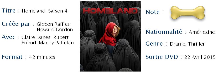 Homeland, saison 4