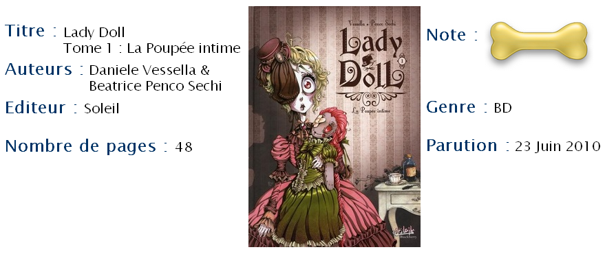 Lady Doll Tome 1
