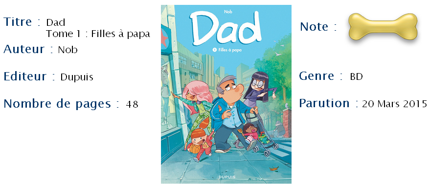 Dad Tome 1 Filles A Papa Kix Reviews
