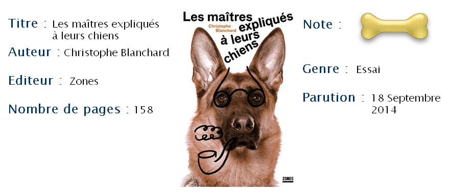 Les maîtres expliqués à leurs chiens, C. Blanchard