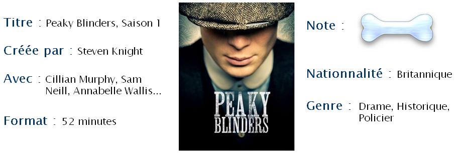 Peaky blinders, saison 1